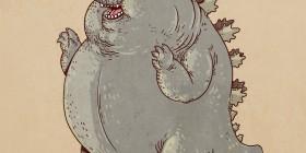 Famous Chunkies: Godzilla