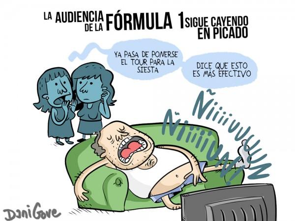 La audiencia de la Fórmula 1