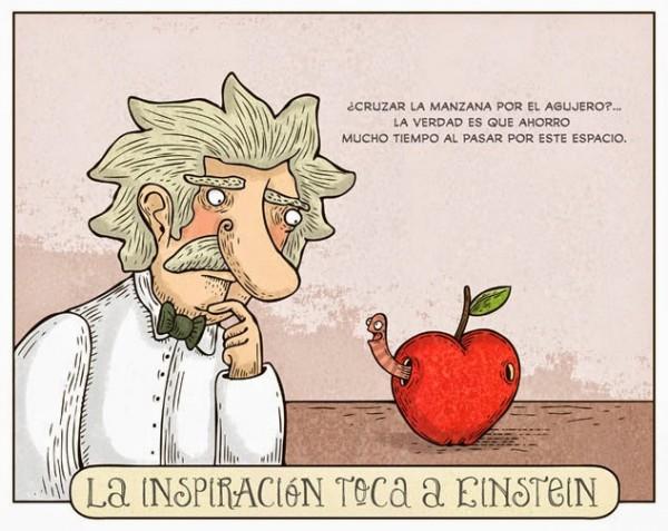 La inspiración toca a Einstein