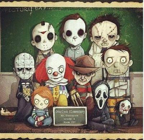 Freddy Vs Jason Vs Chucky Vs Michael Myers Vs Pinhead La vieja escuela del t...