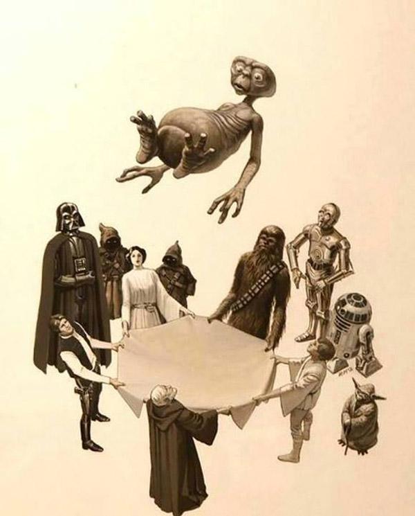 Manteo a E.T.
