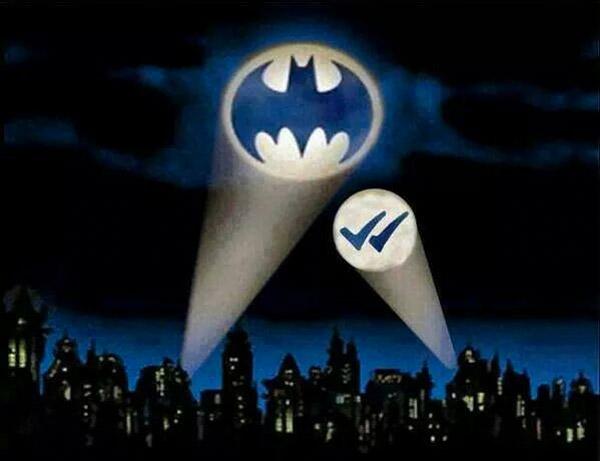 Mensaje recibido, Batman