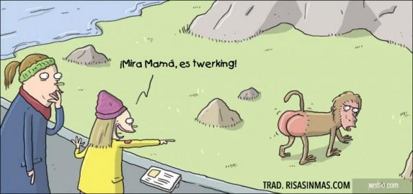 ¡Mira Mamá, es twerking!