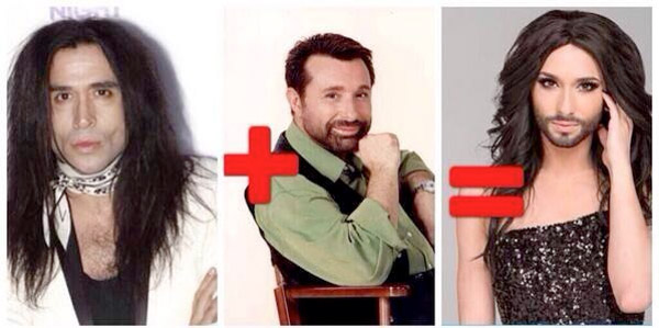 Parecidos razonables: Conchita Wurst