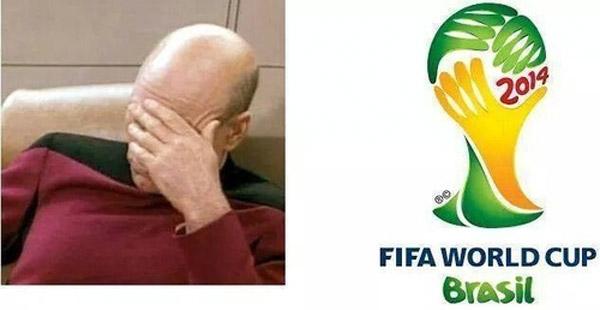 Parecidos razonables: logo Mundial Brasil