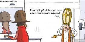 Pharrell y su sombrero