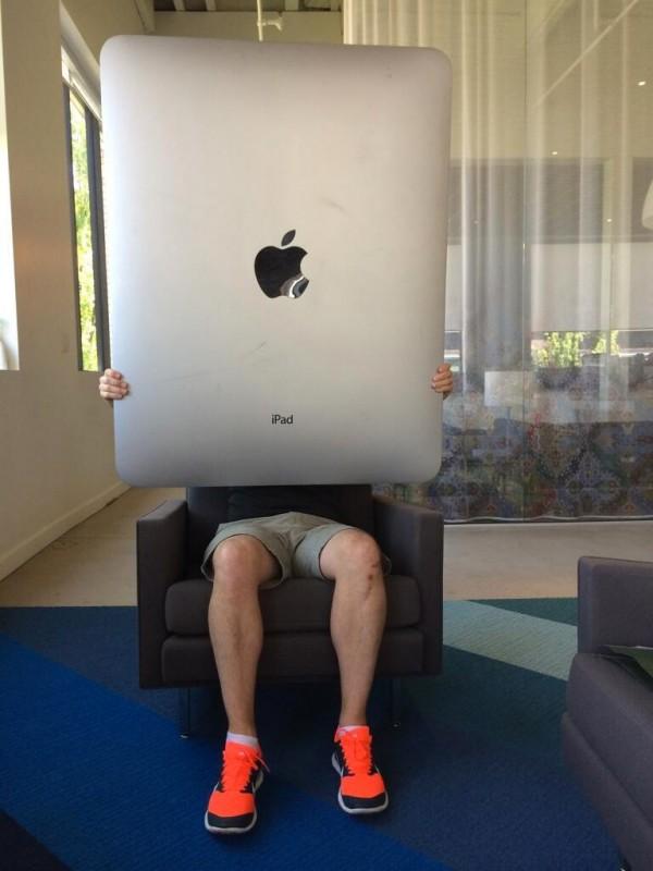 Primera foto del iPad Pro