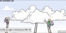 Recogiendo material para Nike Air