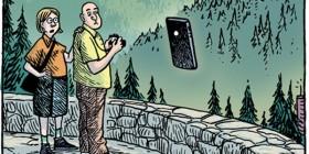Selfie del hombre invisible