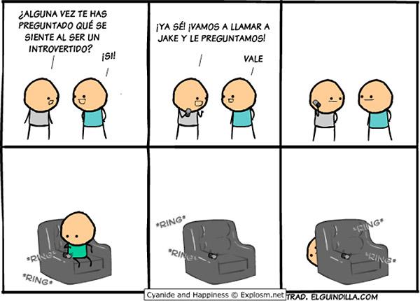 Ser un introvertido