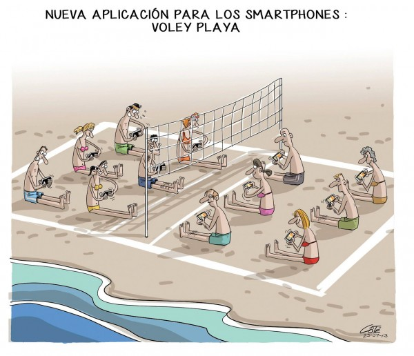 Smartphones: Voley Playa