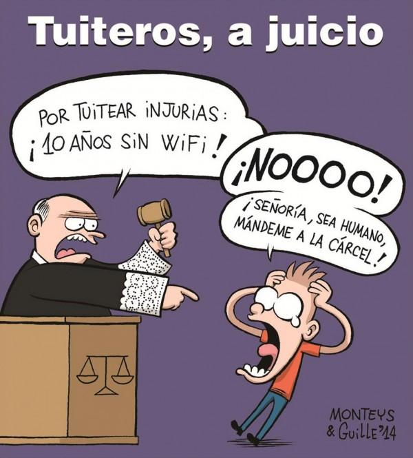 Tuiteros, a juicio