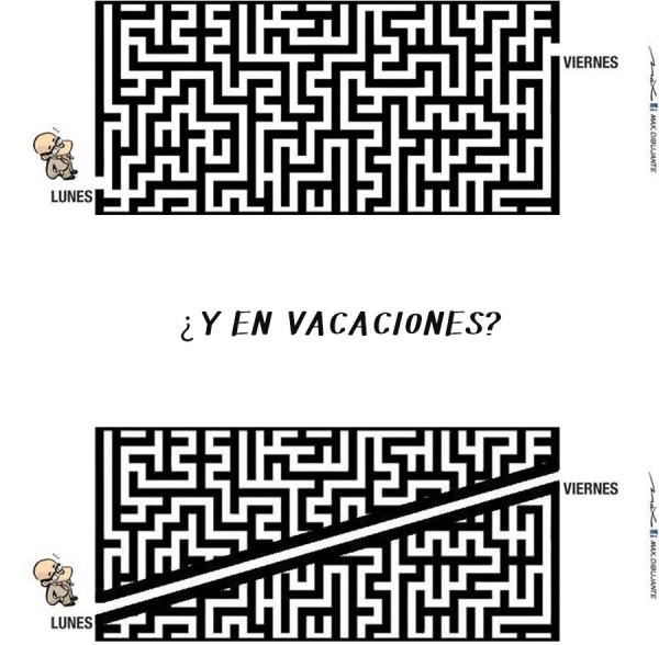 ¿Y en vacaciones?