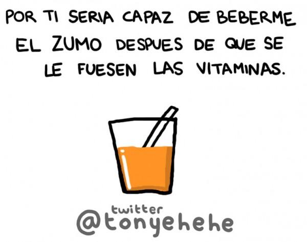 Zumo sin vitaminas