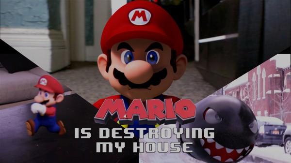 Mario Bros está destruyendo mi casa