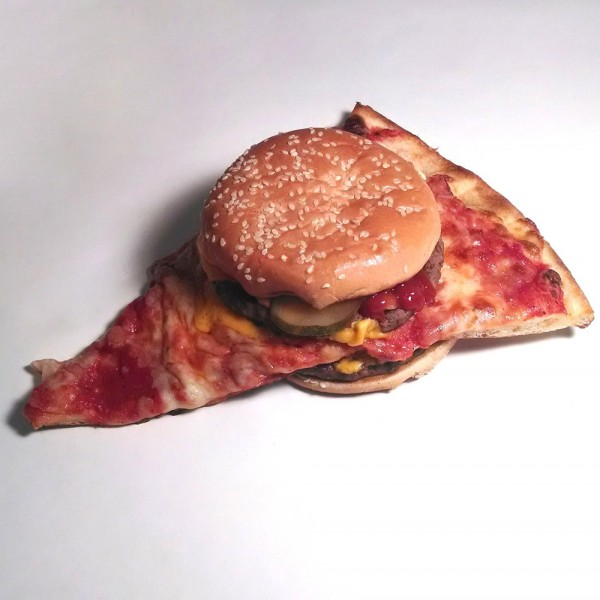 ¡Llegan las pizza-burger!