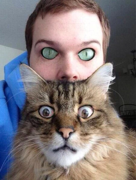Cambio de ojos