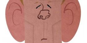 Caricatura de Nick Nolte