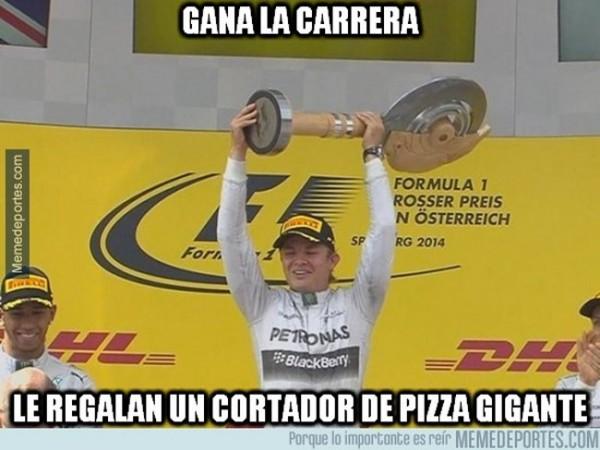 Cortador de pizza gigante