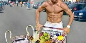 Cristiano Ronaldo de compras