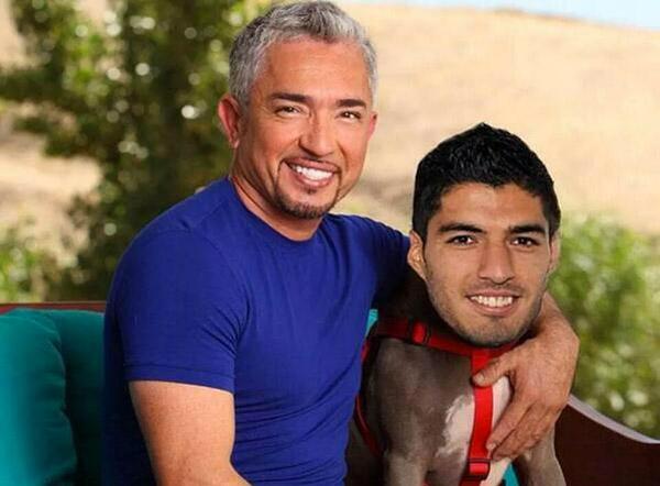 El encantador de perros ayuda a Luis Suárez