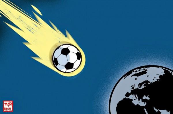 El mundial 2014 se aproxima a la tierra
