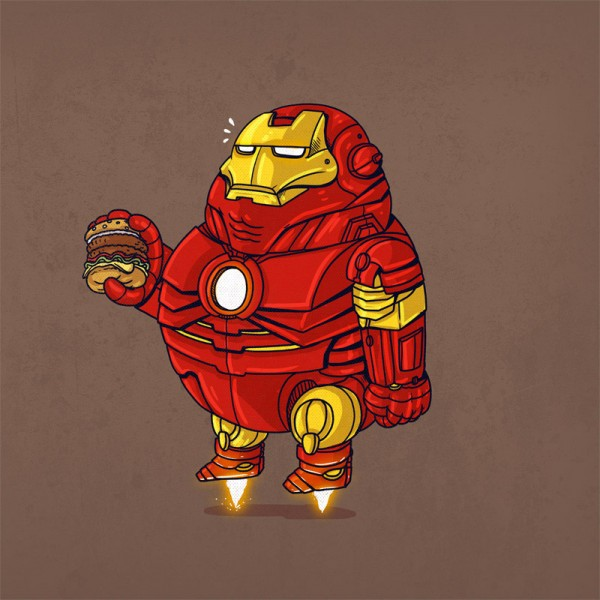 Famous Chunkies: Iron Man