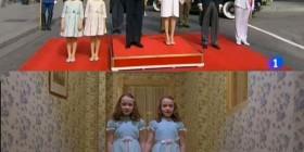 Gemelas Grady y las hijas de Felipe VI