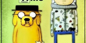 Hora de aventuras como Breaking Bad
