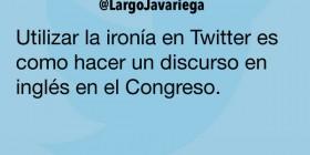 Ironía en Twitter