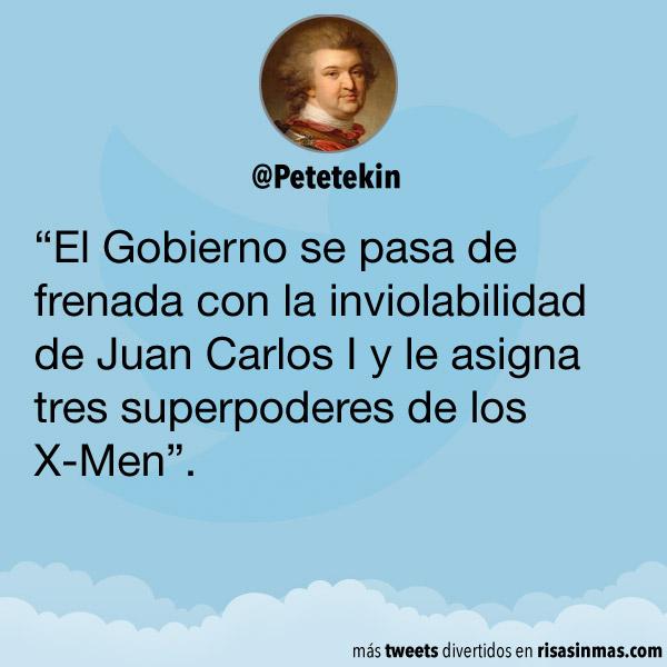 La inviolabilidad de Juan Carlos I