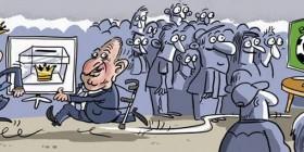 La monarquía aprovecha el Mundial 2014