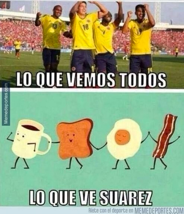 Lo que ve Luis Suárez