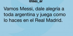 Messi en el Real Madrid