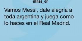 Messi en el Real Madrid