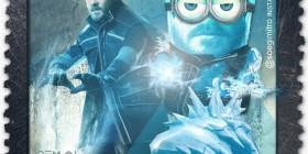 Minion El Hombre de Hielo de X-Men