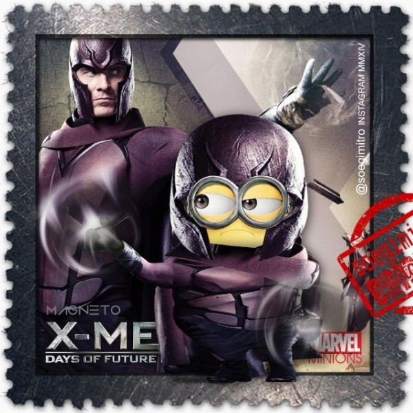 Minion Magneto de X-Men