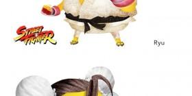 Minions como personajes de Street Fighter