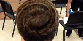 Peinado remolino