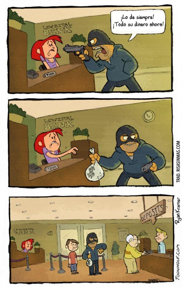 Robando el banco