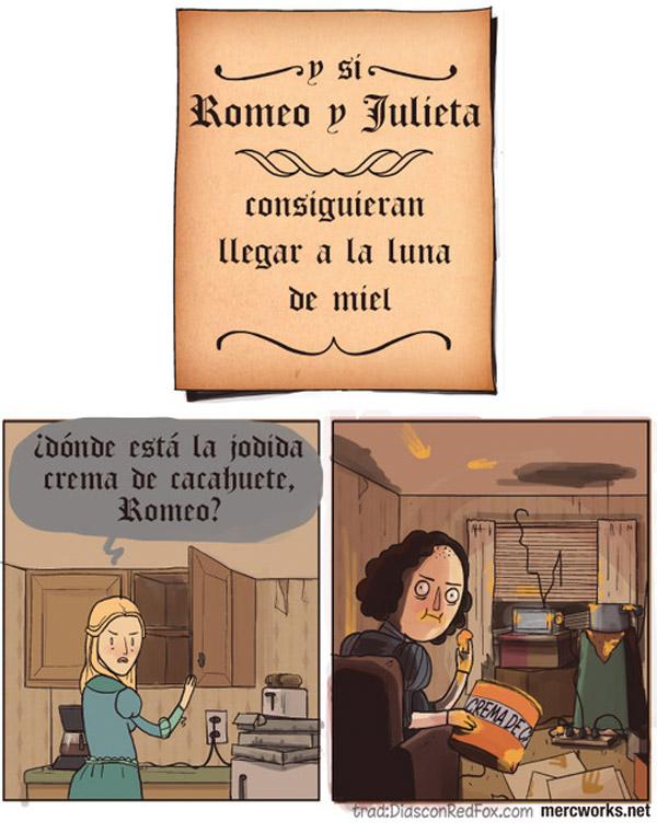 Romeo y Julieta en su luna de miel
