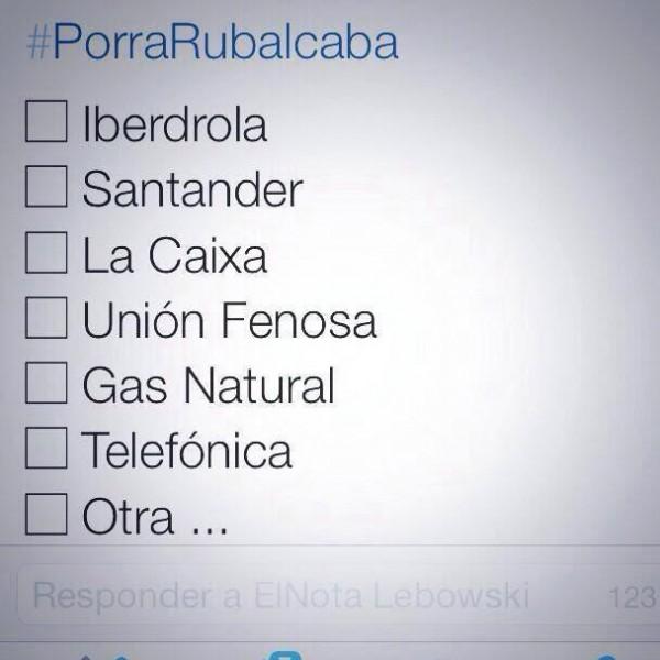 ¿Dónde acabará Rubalcaba?