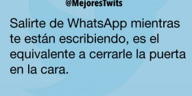 Salirte de WhatsApp