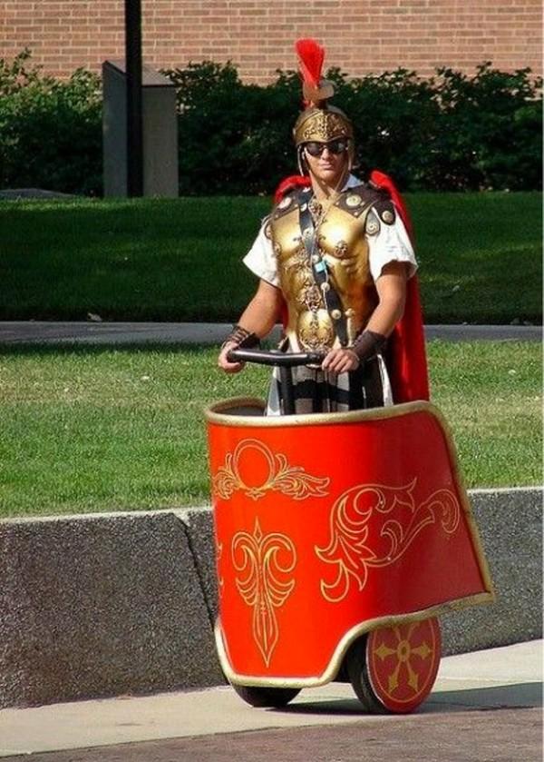 Segway en la época de los romanos