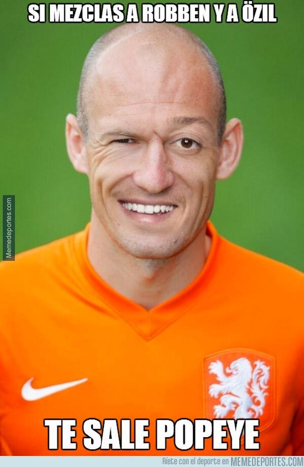 Si mezclas a Robben y a Özil