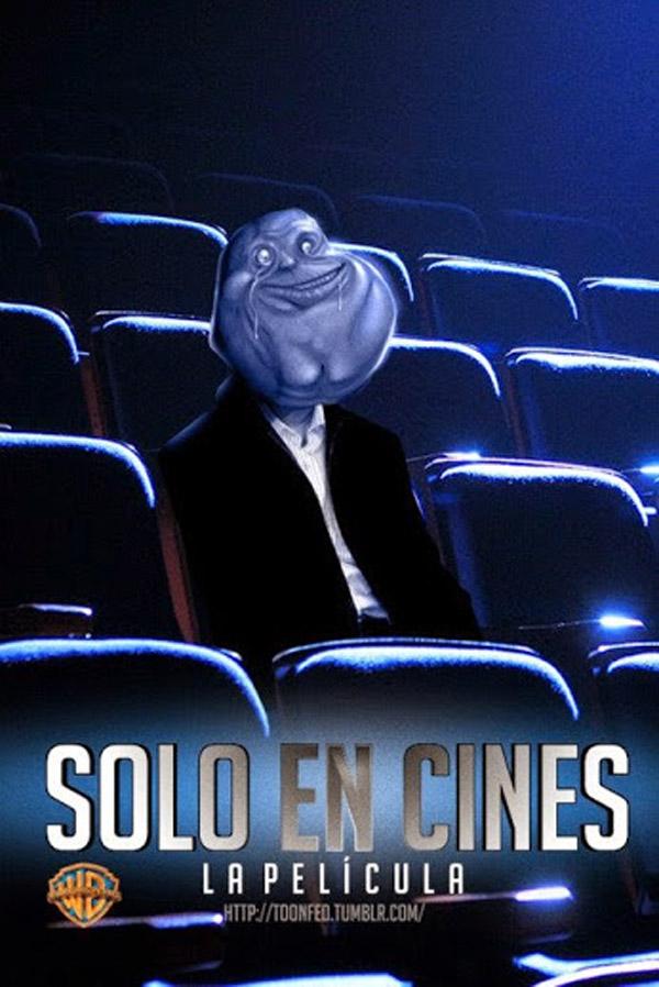 Solo en cines, la película
