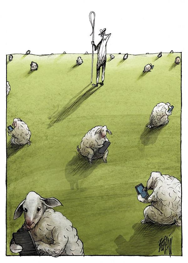 Somos ovejas en las Redes Sociales