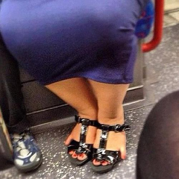 ¿Zapatos pequeños?