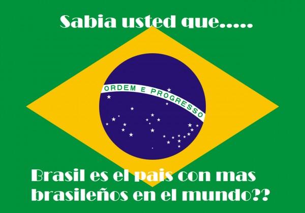Sabía usted que Brasil es el país