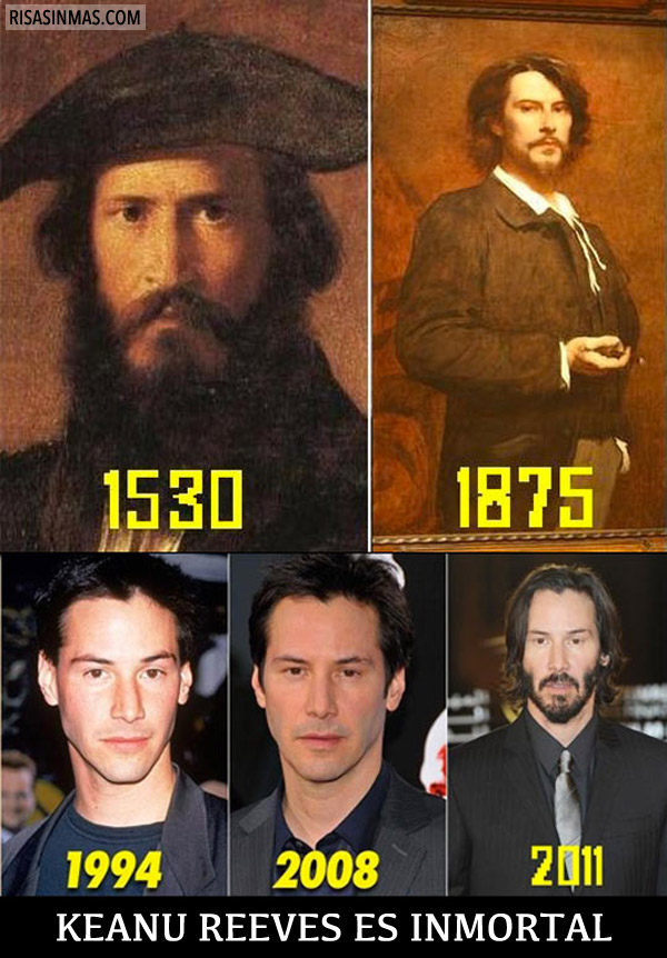 Keanu Reeves es inmortal